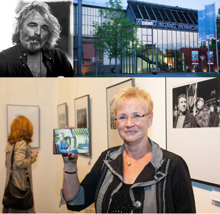 Fotoausstellung Bertelli im LWL Museum Henrichshütte