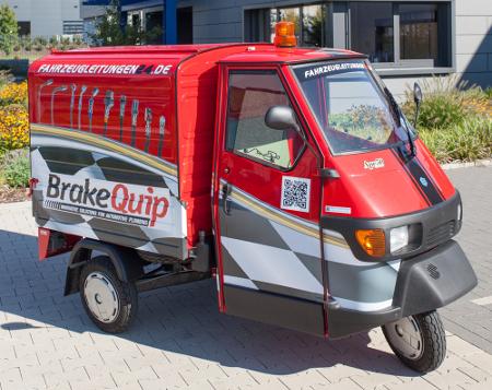 Brake Quip Werbe-Ape