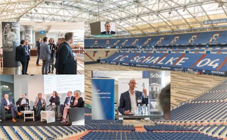Netzwerk Event auf Schalke