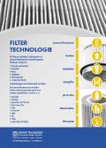 Flyer Filtertechnologie und Rohrverschraubungen