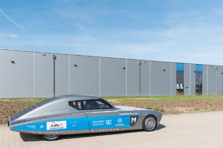 SolarCar bei Wagener Hydraulik