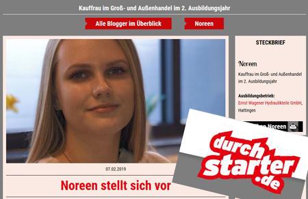 Wagener Auszubildende bei durchstarter.de