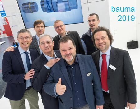 Stucchi und Wagener Hydraulik Team auf der bauma 2019