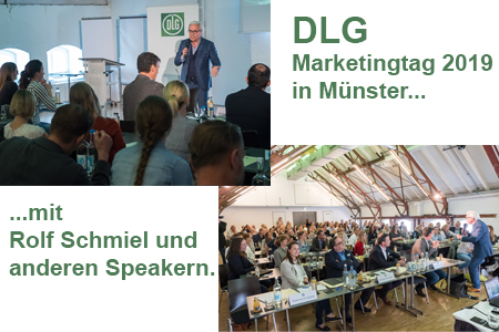 Bilder vom DLG Marketingtag 2019