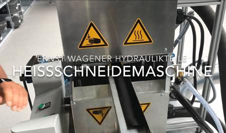 Neue Schneidemaschine