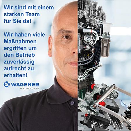Werbemotiv der Wagener Hydraulik