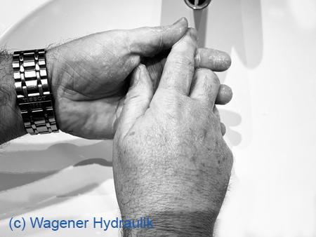 Symbolbild zum Thema Händehygiene