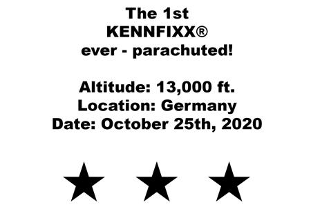 Daten zum Fallschirmsprung von KENNFIXX(R)