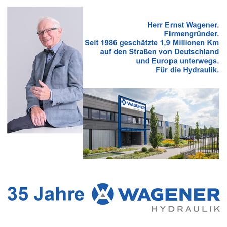 Ernst Wagener, Firmengründer